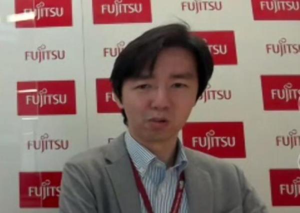富士通 Mobility事業本部 FM アクセラレータ事業部 マネージャーの雨宮宏一郎氏