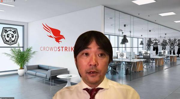 クラウドストライク セールスエンジニアリング部 部長の鈴木滋氏