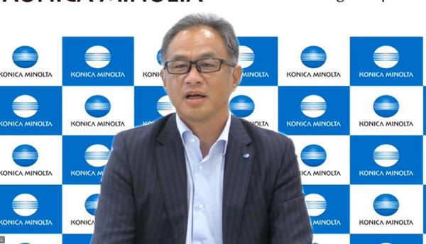 コニカミノルタ 常務執行役 デジタルワークプレイス事業本部長の武井一氏