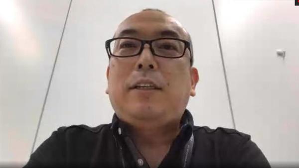 NTTデータ ITサービス・ペイメント事業本部 カード&ペイメント事業部 デジタルペイメント開発室長の神保良弘氏