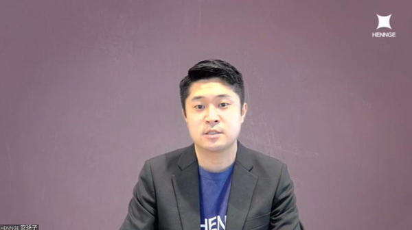 HENNGE Customer Marketing Division  One Marketing Sectionの安孫子貴幸氏