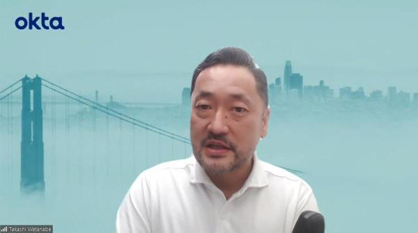 Okta Japan 代表取締役社長の渡邉崇氏