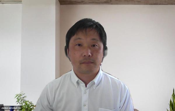 コニカミノルタジャパン マーケティングサービス事業部 空間デザイン部 部長の宮本晃氏