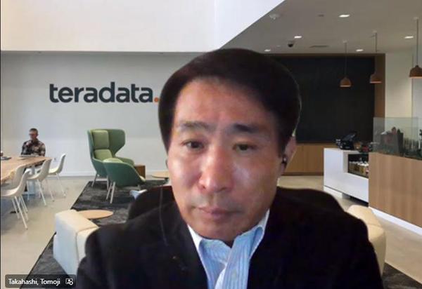日本テラデータ 代表取締役社長の髙橋倫二氏