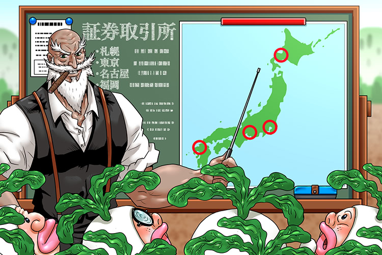 日本の株式市場にはどんな種類がある?東京証券取引所や地方の証券取引所