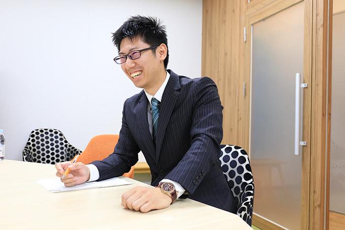 松井証券のアピールポイントを語る服部さん