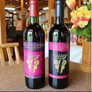 小坂七滝ワイナリー赤ワイン