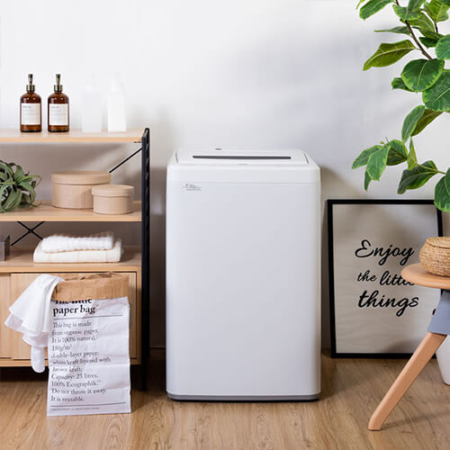 縦型洗濯機 ホワイト