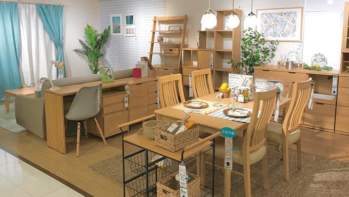 家具のモデルルーム