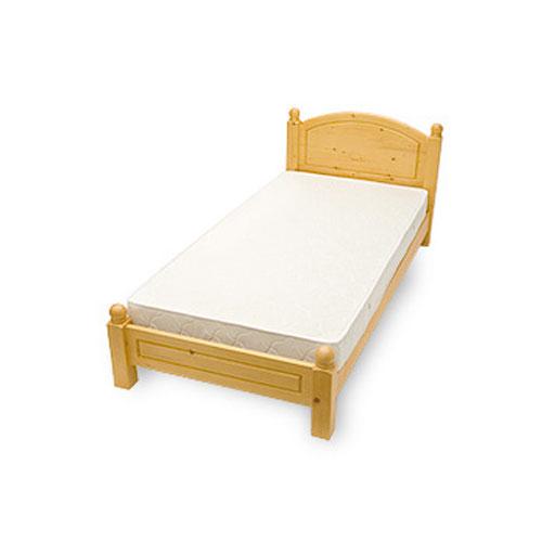 シングルベッド(寝具なし)