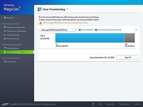 Samsung SSDの性能をさらに引き出すユーティリティ - 「Samsung ...