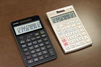 カシオのフラッグシップ電卓 s100 今の時代に3万円の電卓 なぜ