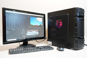 8コア16スレッドの「AMD Ryzen 7 2700X」は従来シリーズより高クロック化されており、ハイエンド3Dゲームや、「Premiere」「Photoshop」「Lightroom」などのクリエイティブ系アプリケーションを快適に動作させられる