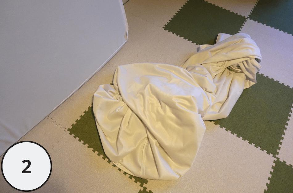 マットレスシーツ洗濯