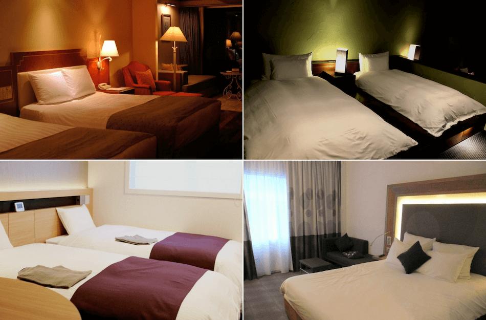日本ベッド納入ホテル