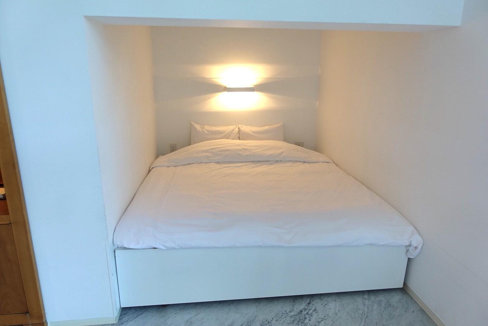 ホテルブレストンコートのベッド