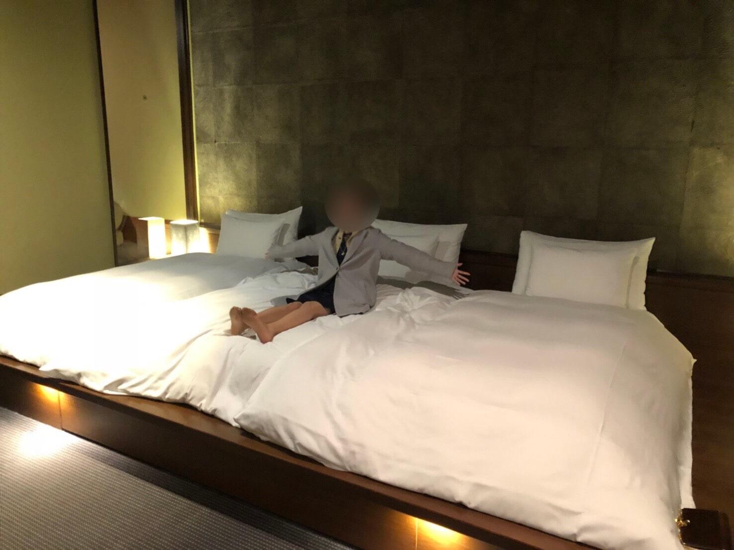 星のやベッドで寝た家族の感想
