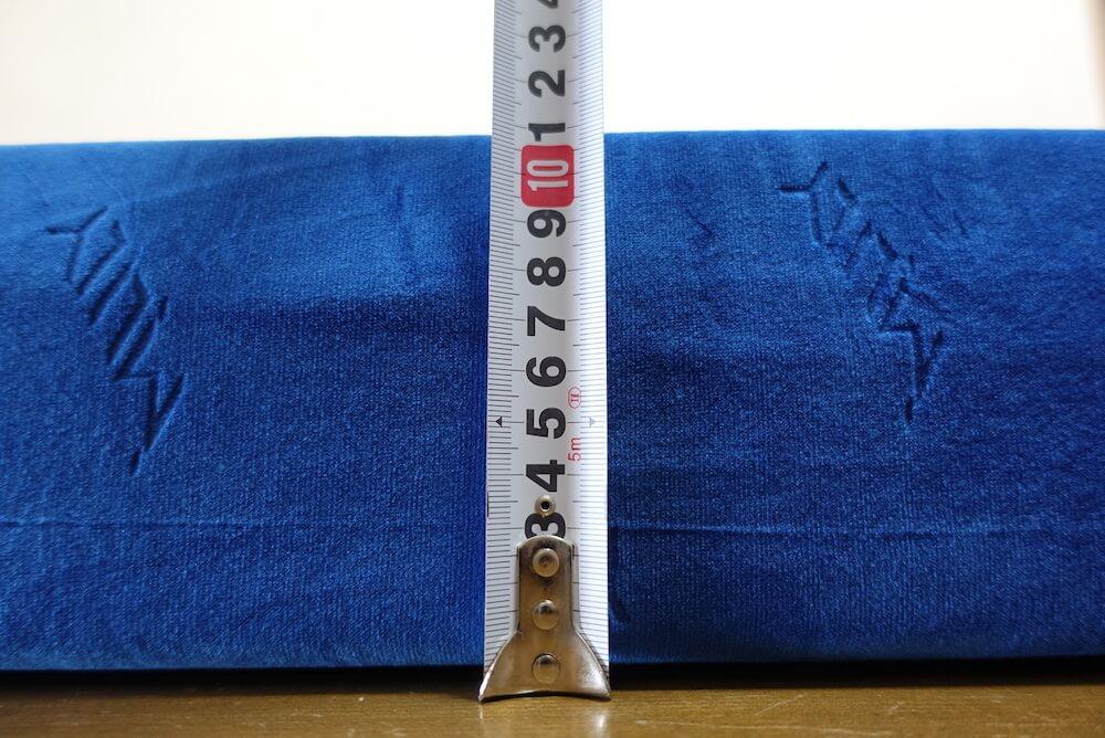 エムリリー優反発マットレスの厚み11cm