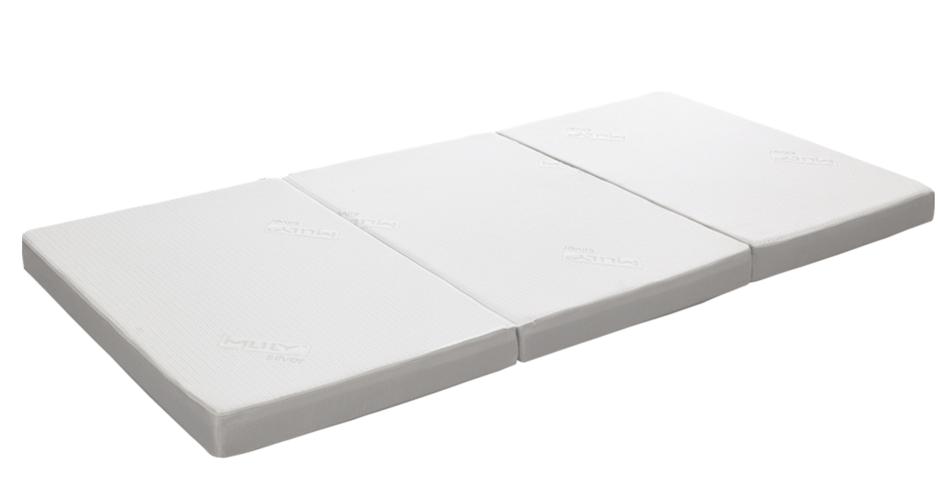 エムリリーエコヘルスシリーズ三つ折りマットレス9cm
