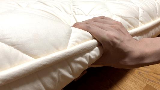 敷布団素材の画像