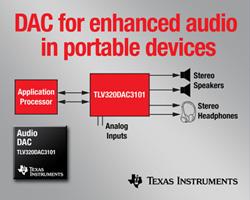 TI、スマートフォンの拡張オーディオ機能向けコーデックとDACを発表