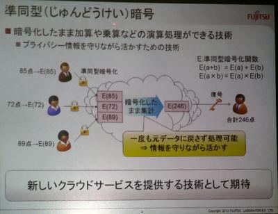富士通研究所、暗号化したまま計算ができる準同型暗号を2,000倍に高速化