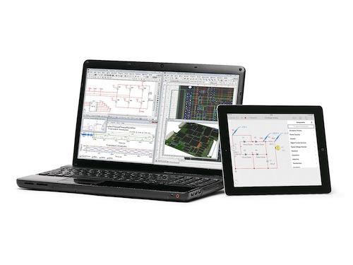 image:日本NI、回路解析ツール「Multisim Touch」の「iPad」用アプリを発表