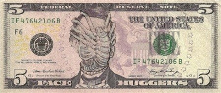 お札に落書き、プロが描くとここまで本格的に。ドル紙幣に登場した驚きの人物たち マイナビニュース
