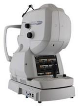 トプコン、光干渉計測を利用した3次元眼底像撮影装置を発表