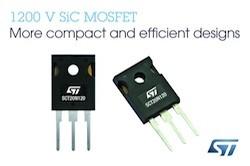 ST、EV車や太陽光システムなど向けに1200V耐圧のSiCパワーMOSFETを発表
