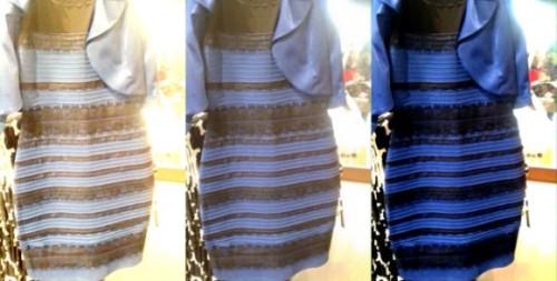 b0d53d07ac806 ちなみにこの写真は、左はホワイトバランスを調整して白と金に見せたもの。中央はもともとの画像、右側はホワイトバランスで青と黒に調整したものだ。