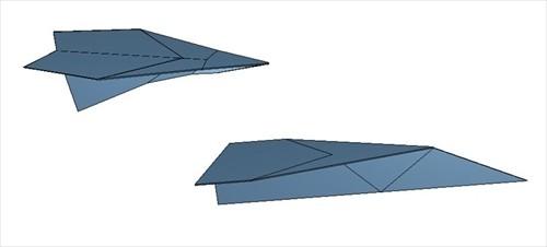 100 メートル 飛ぶ 紙 飛行機