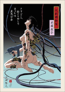 「攻殻機動隊 浮世絵」第一弾 同商品は、士郎正宗の漫画「攻殻機動隊」の... アニメ映画「攻殻機