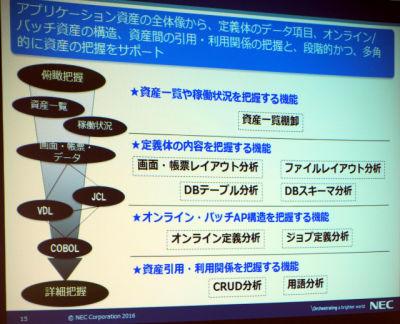NEC、ソースから設計書を自動生成する基盤ソフトウェア