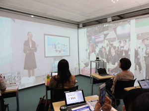 「教室の雰囲気」まで共有するNECの遠隔授業システム - 第7回教育ITソリューションEXPO