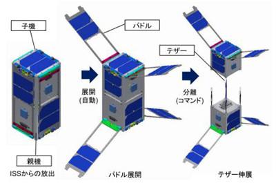 静大、宇宙エレベーター実現に向けた超小型衛星「STARS-C」を ...