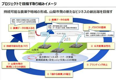 NTT東日本など、IoTなどを応用した「アグリイノベーション Lab@山梨市」