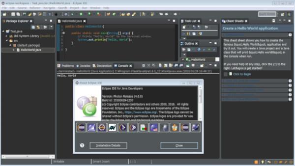 Java 10対応、LSPで拡がるEclipse Photonがリリース   マイナビ