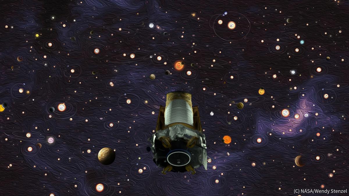 NASAの「ケプラー」宇宙望遠鏡、...
