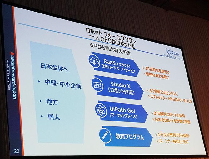 RPAは日本が必要としているキーテクノロジー - 米UiPath CEO (1