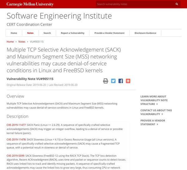 LinuxとFreeBSDカーネルに脆弱性、パッチ適用を   マイナビニュース