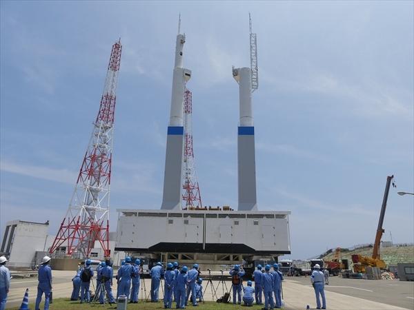 H3ロケット用の新型移動発射台がプレス公開、H-IIB用とはどこが変わる ...
