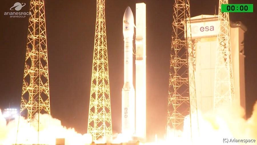 【宇宙開発】欧州の小型ロケット「ヴェガ」、打ち上げに失敗 – UAEの衛星を喪失 仏企業「アリアンスペース」