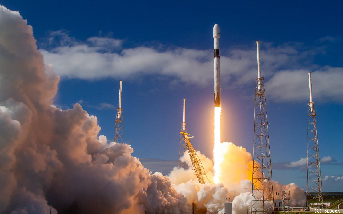 スペースX、宇宙インターネット衛星「スターリンク」の打ち上げに成功 ...
