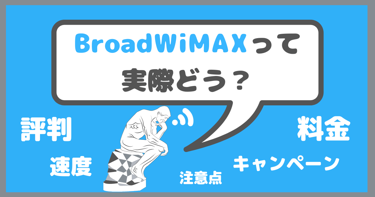 Broad WiMAX 評判