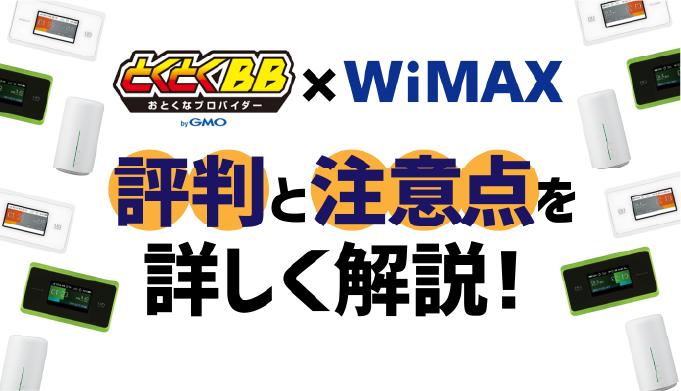 WiMAX GMO