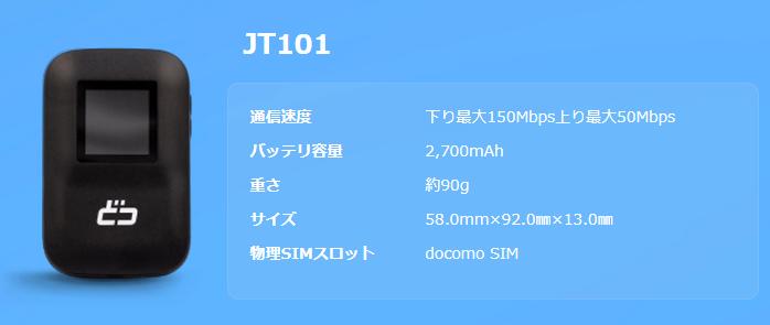 docomo JT101